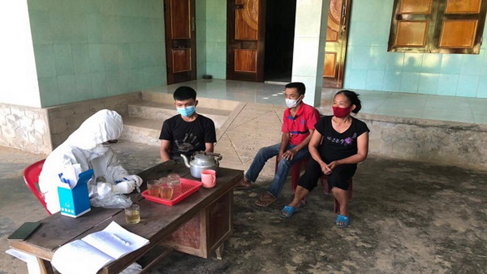 Quảng Bình xử phạt 3 người trong 1 gia đình vi phạm quy định cách ly tại nhà