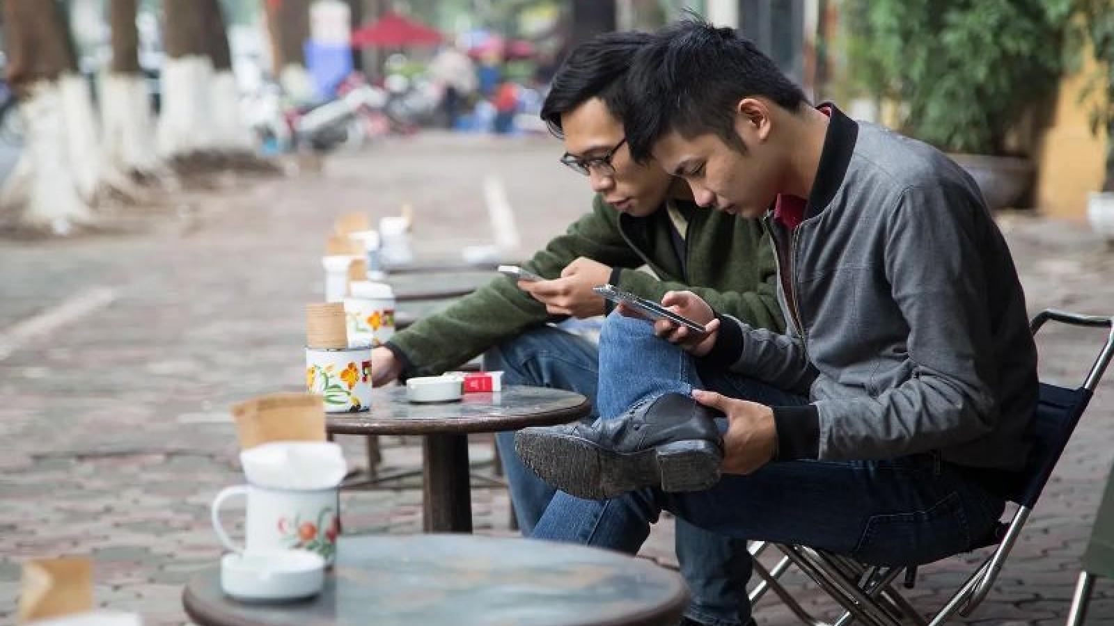 Lượng người dùng smartphone ở Việt Nam đứng trong top 10 toàn cầu