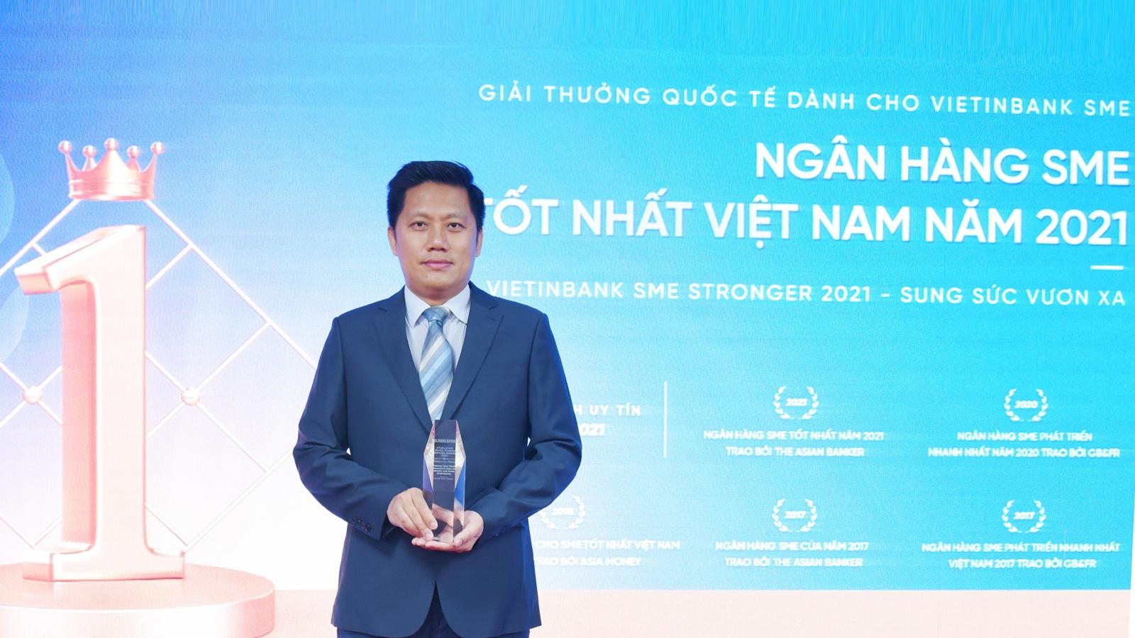 VietinBank là Ngân hàng SME tốt nhất Việt Nam 2021