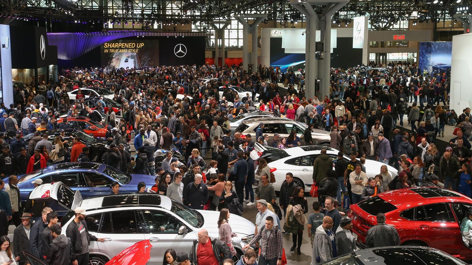 Triển lãm ô tô New York 2021 sẽ trở lại vào tháng 8