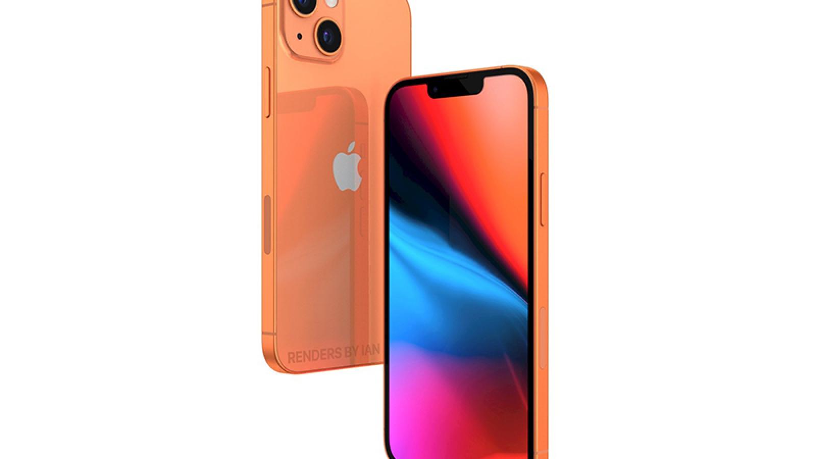 iPhone 13 sẽ gây bất ngờ với tùy chọn màu Cam