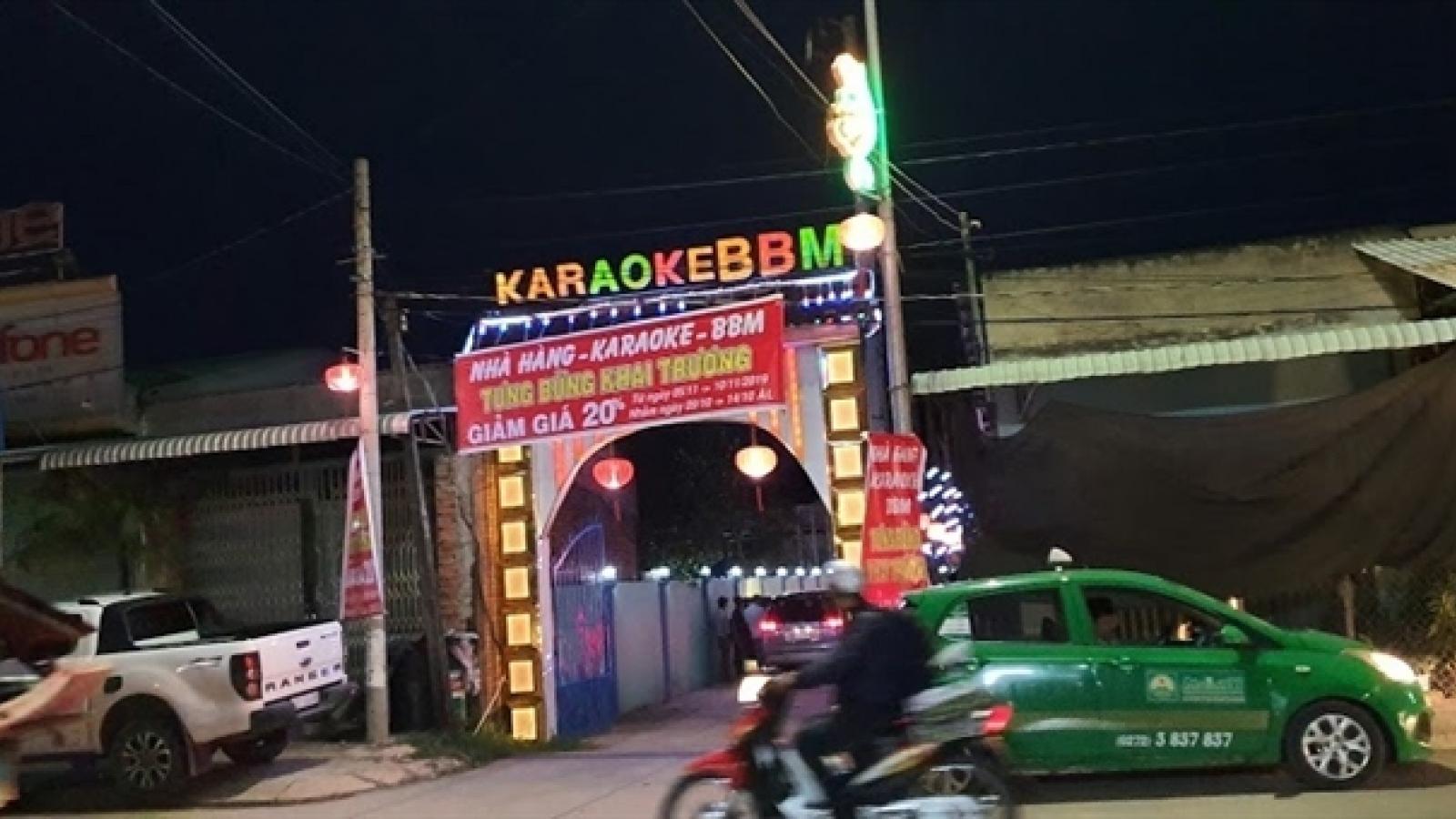 18 nam nữ 'phê' ma túy trong quán karaoke bất chấp dịch COVID-19 ở Long An