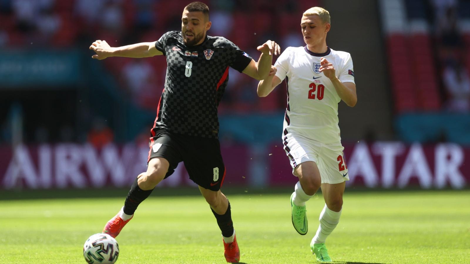 TRỰC TIẾP ĐT Anh 0 - 0 Croatia: Cột dọc từ chối siêu phẩm của Foden