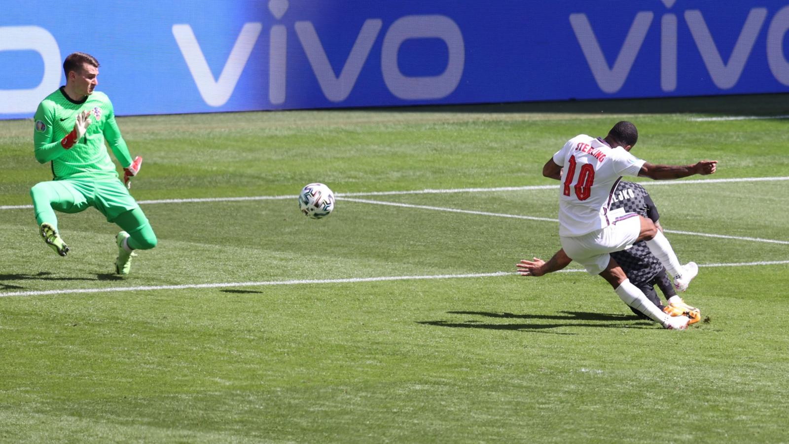 TRỰC TIẾP ĐT Anh 1 - 0 Croatia: Sterling mở tỷ số