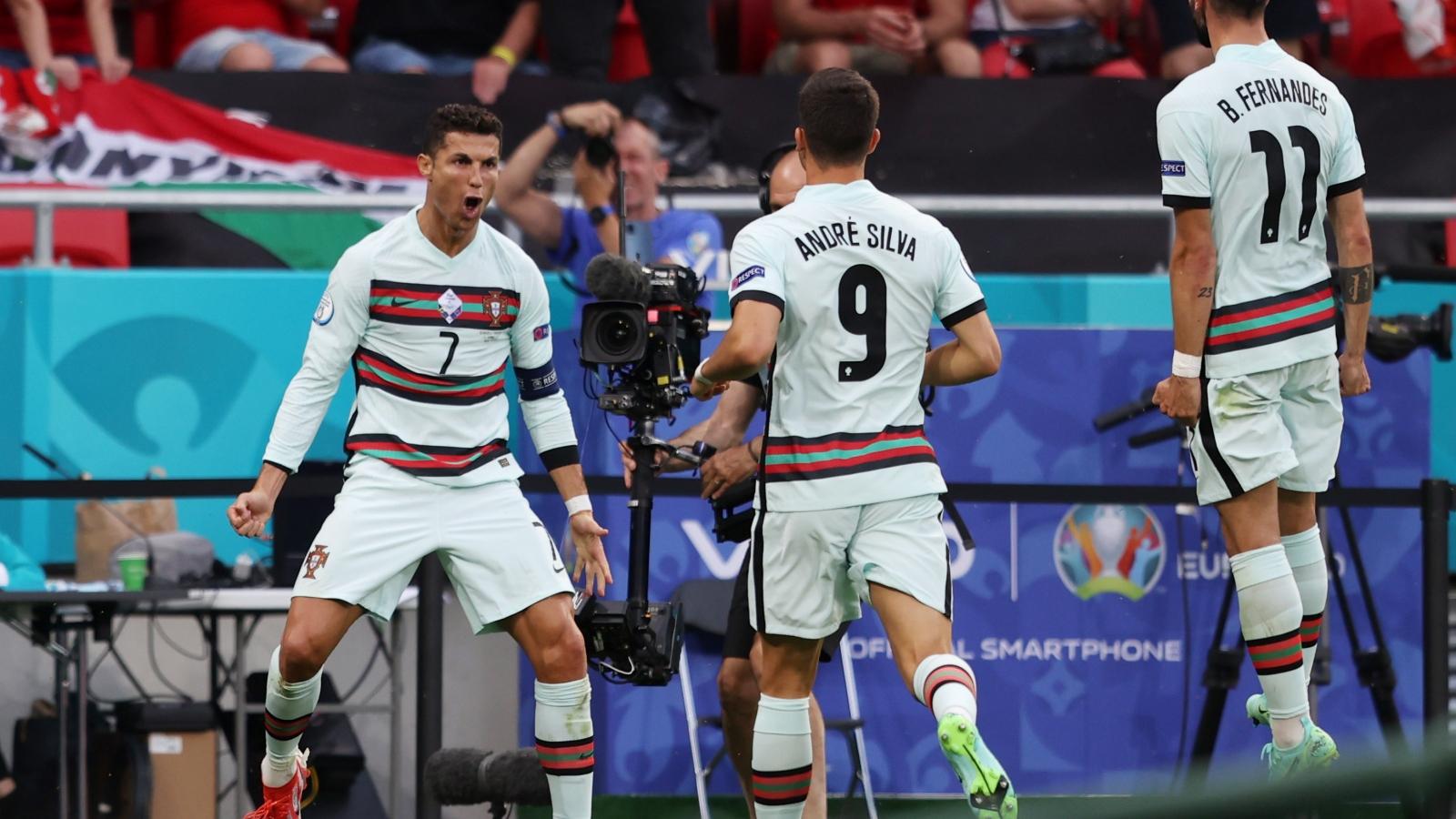 Bảng xếp hạng EURO 2021 mới nhất: Bồ Đào Nha dẫn đầu bảng tử thần