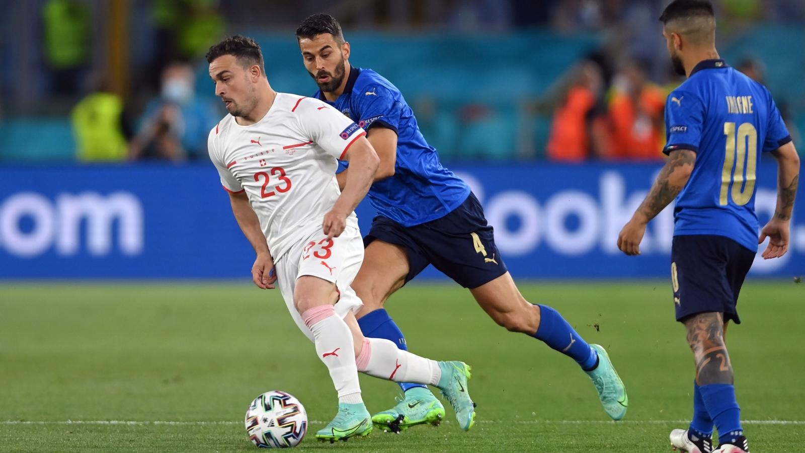 TRỰC TIẾP Italia 0 - 0 Thụy Sĩ: Đôi công rực lửa