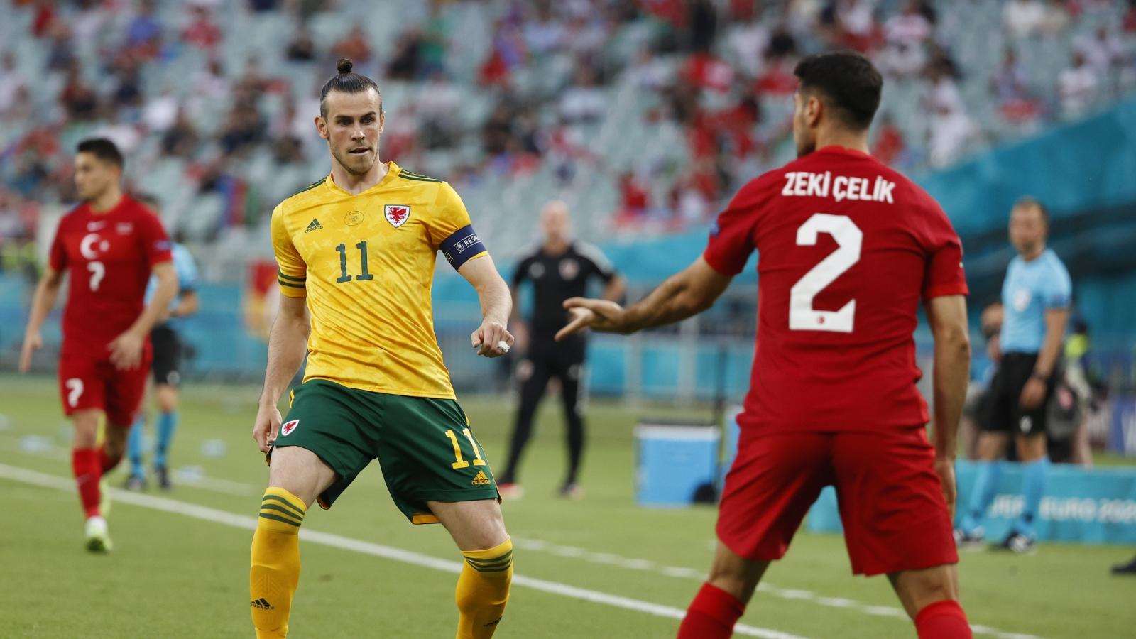 Trực tiếp Thổ Nhĩ Kỳ 0-0 Xứ Wales: Đôi công hấp dẫn