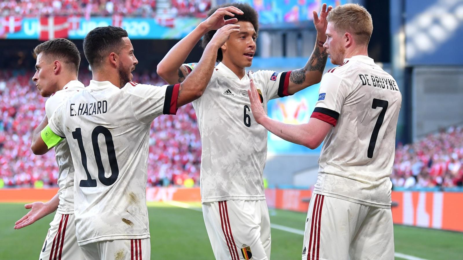 ĐT Bỉ có nguy cơ tụt xuống thứ 3 bảng B - EURO 2021