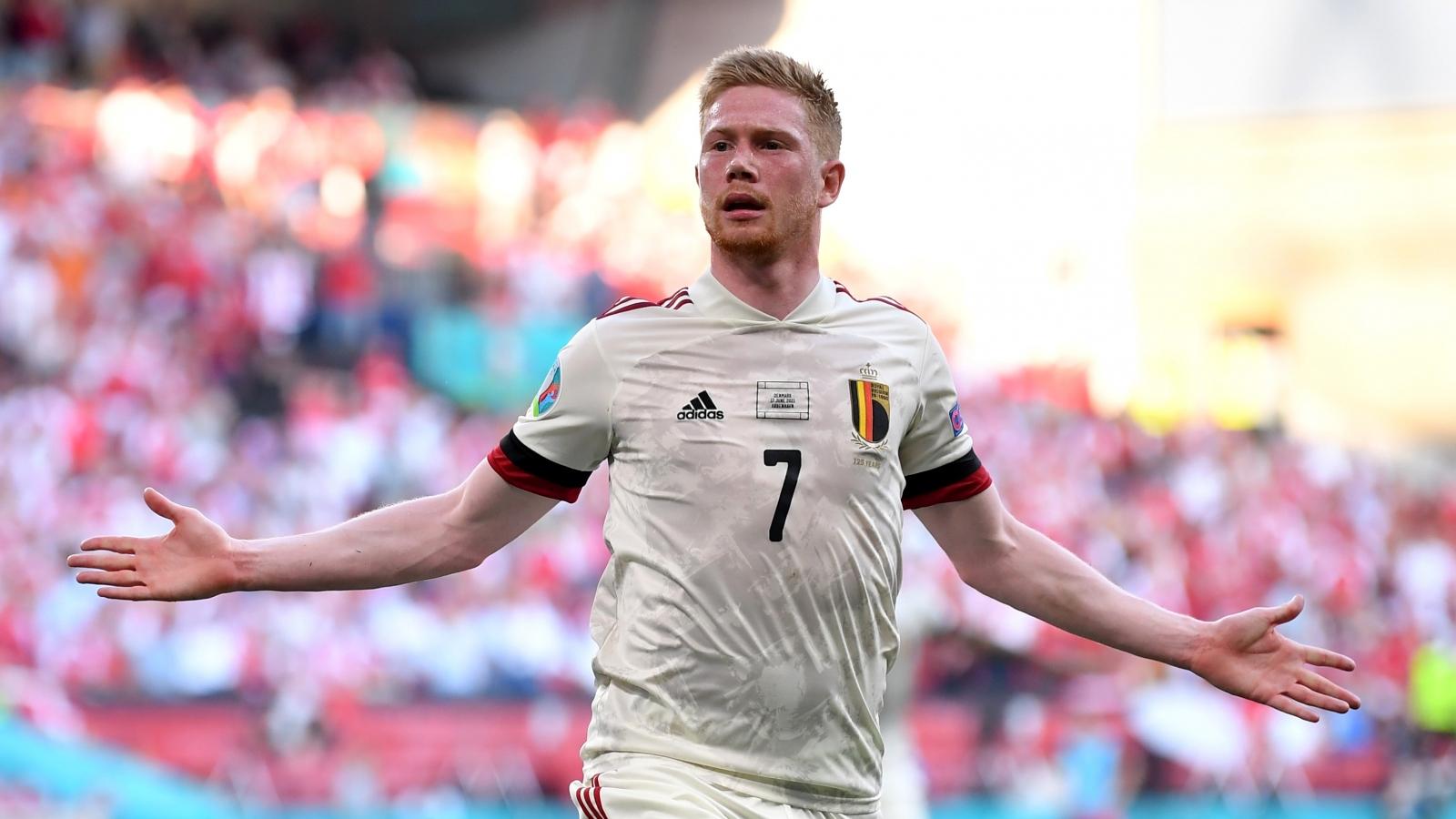 De Bruyne gieo sầu cho Đan Mạch, Bỉ vào vòng knock-out EURO 2021