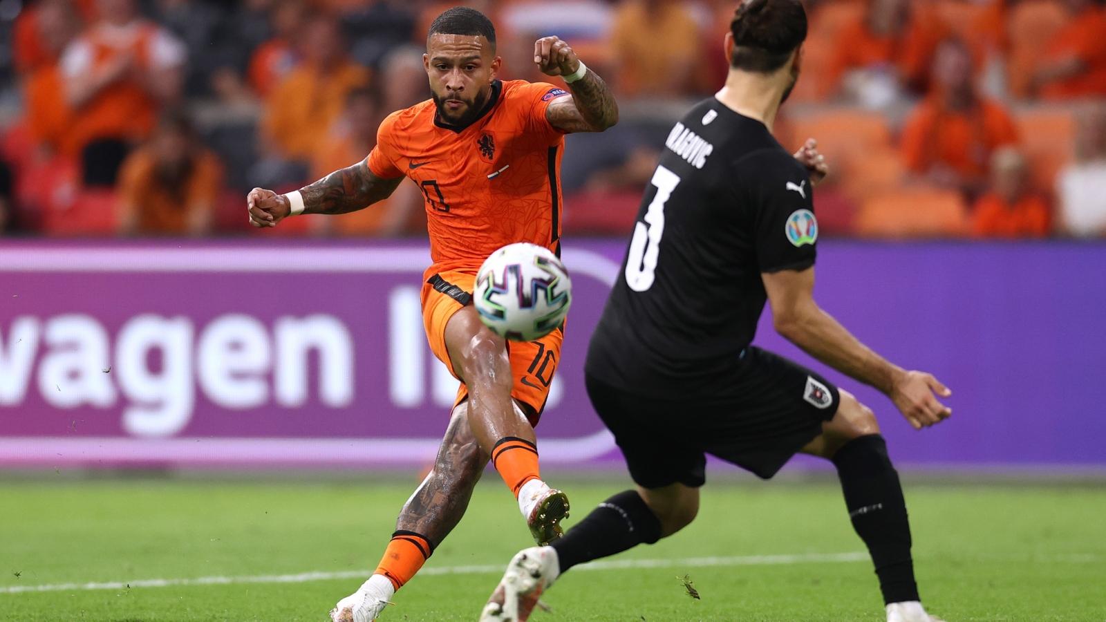 TRỰC TIẾP Hà Lan 1-0 Áo: Hiệp 2 bắt đầu