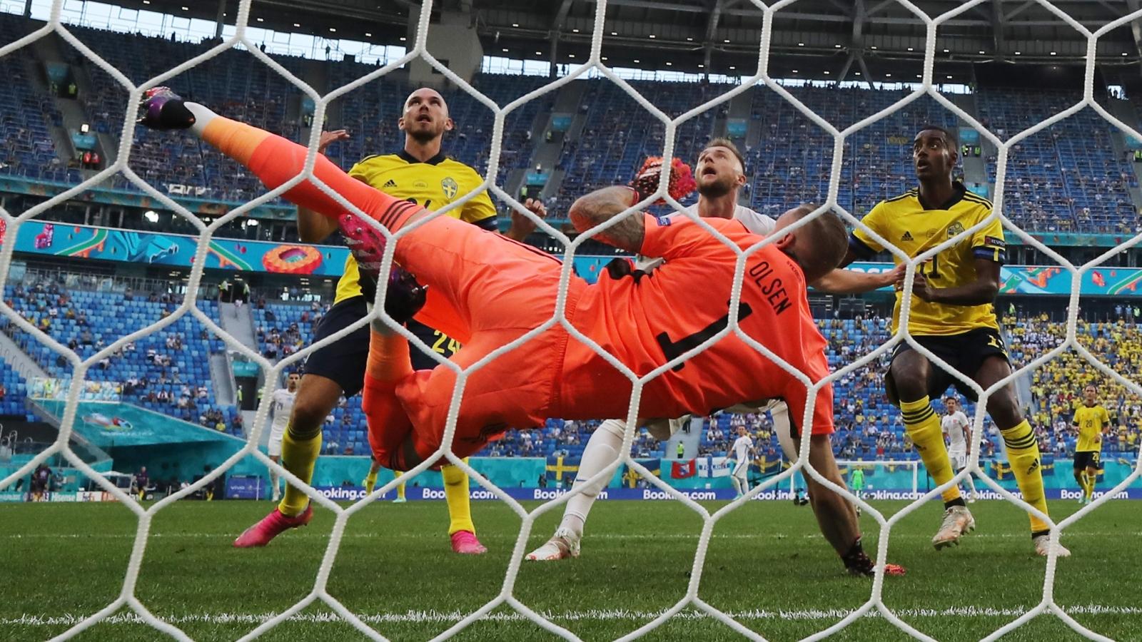 TRỰC TIẾP Thụy Điển 1-0 Slovakia: Forsberg mở tỷ số từ chấm 11m