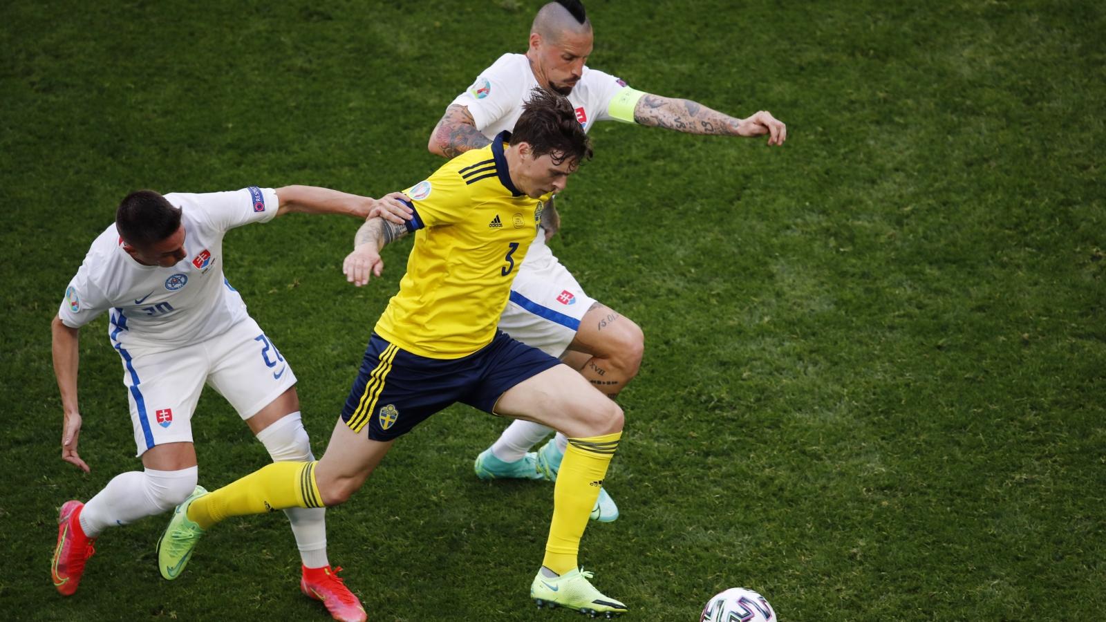 TRỰC TIẾP Thụy Điển 0-0 Slovakia: Hiệp 2 bắt đầu