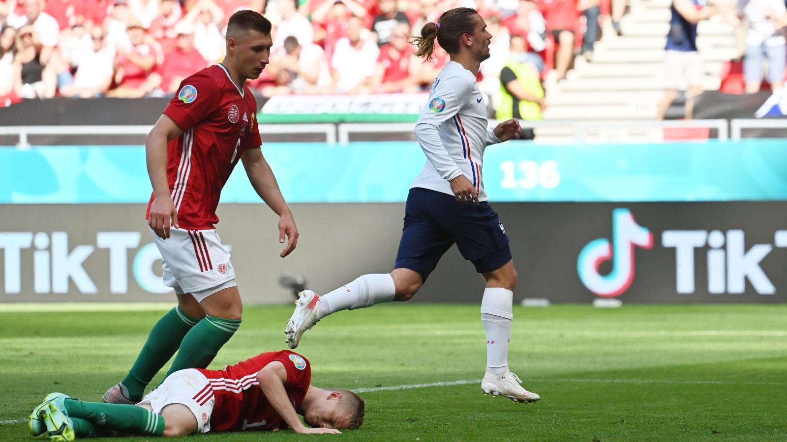 Trực tiếp bóng đá Hungary 1 - 1 Pháp: Đẳng cấp lên tiếng