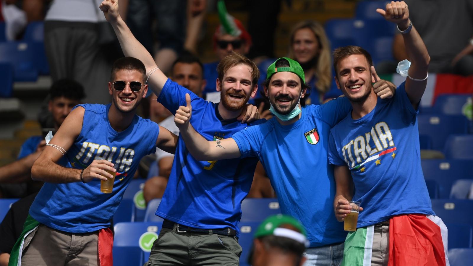 TRỰC TIẾP bóng đá Italia 0 - 0 Xứ Wales: Mọi ngả đường đều dẫn tới thành Rome