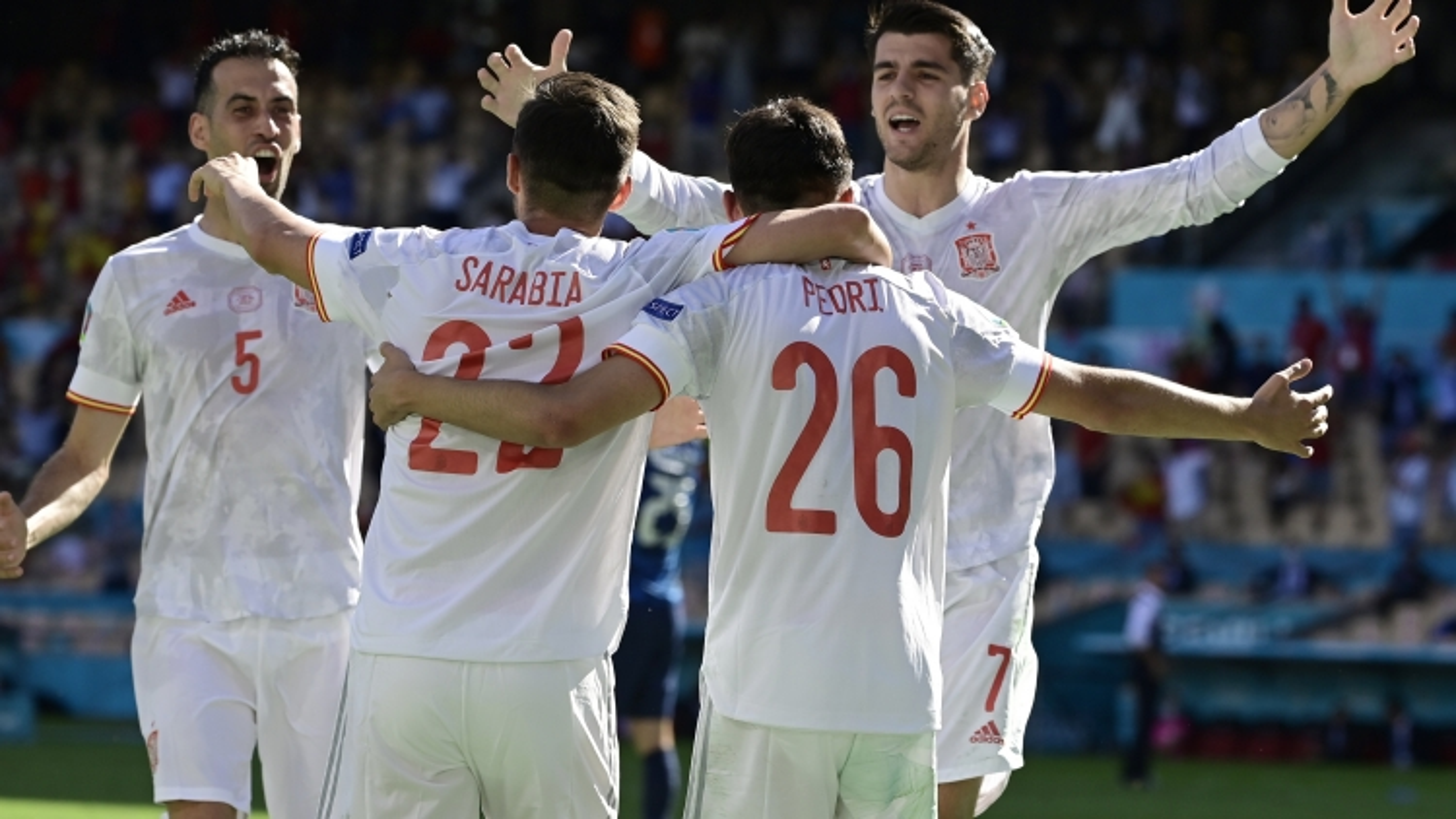"""Tây Ban Nha kiểm soát bóng """"bá đạo nhất"""" EURO 2021"""