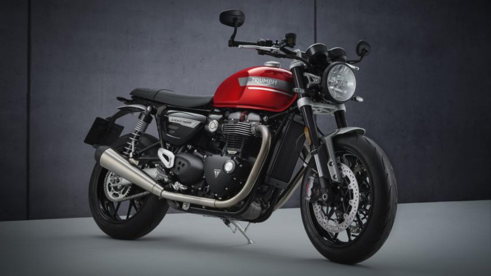 Triumph Speed Twin 2021 ra mắt với hàng loạt nâng cấp