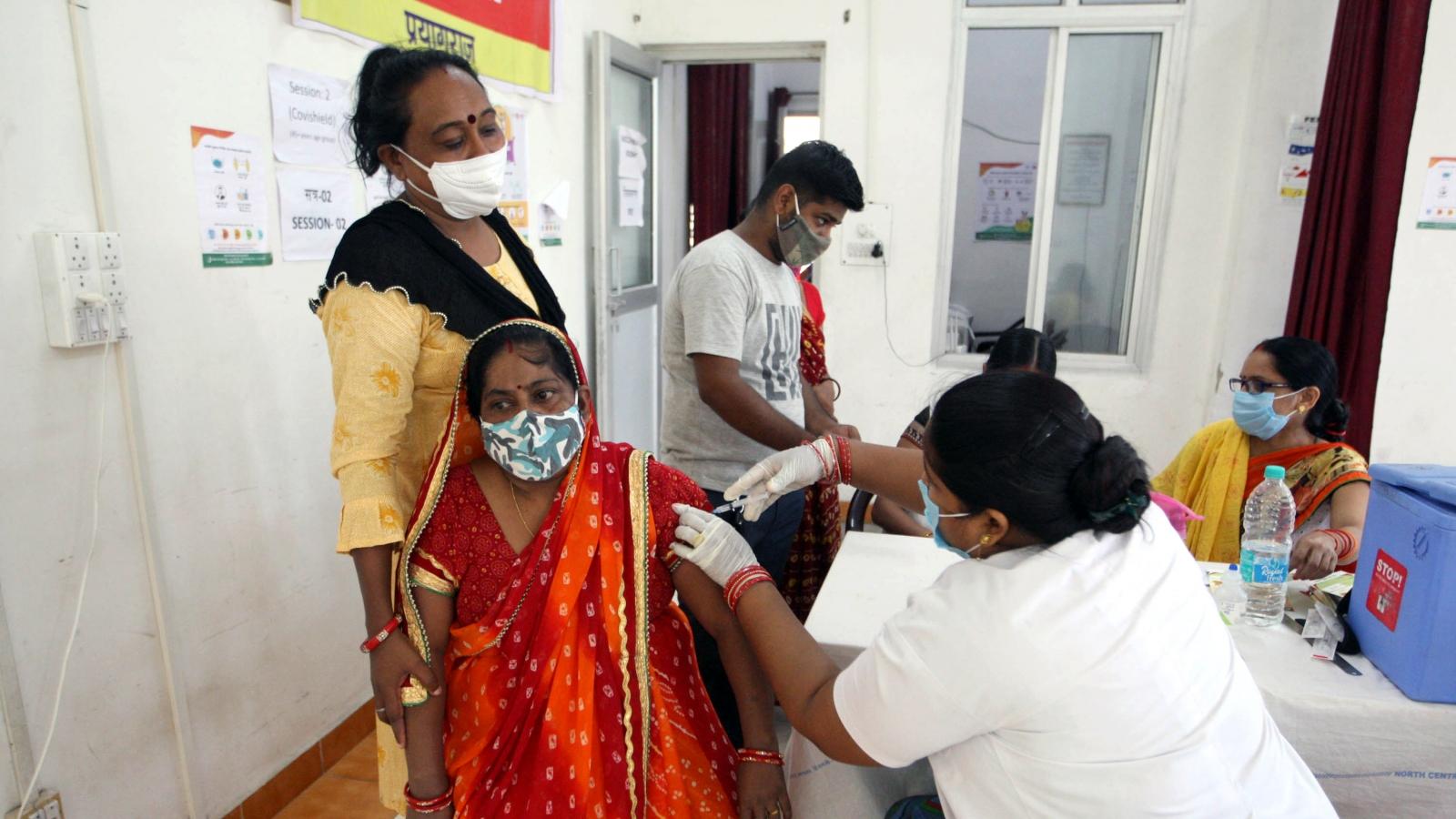 Ấn Độ lập kỷ lục về số mũi tiêm vaccine Covid-19 trong 1 ngày