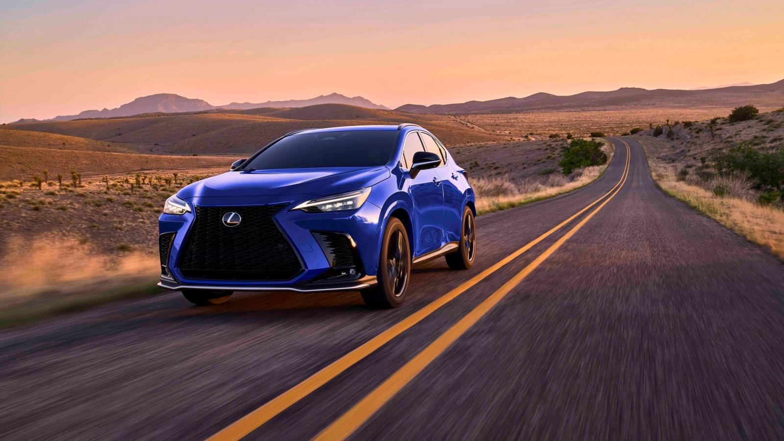 Lexus lần đầu trang bị Hybrid sạc điện cho NX thế hệ mới