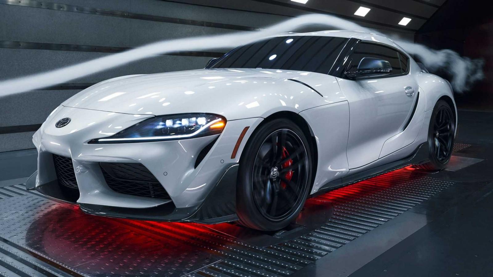 Xe hiệu suất cao Toyota Supra 2022 có thêm bản A91 với nhiều trang bị sợi carbon
