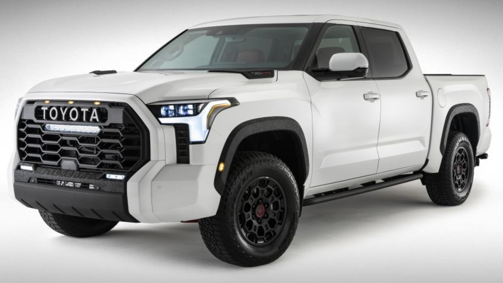 Toyota Tundra thế hệ mới chính thức lộ diện lần đầu