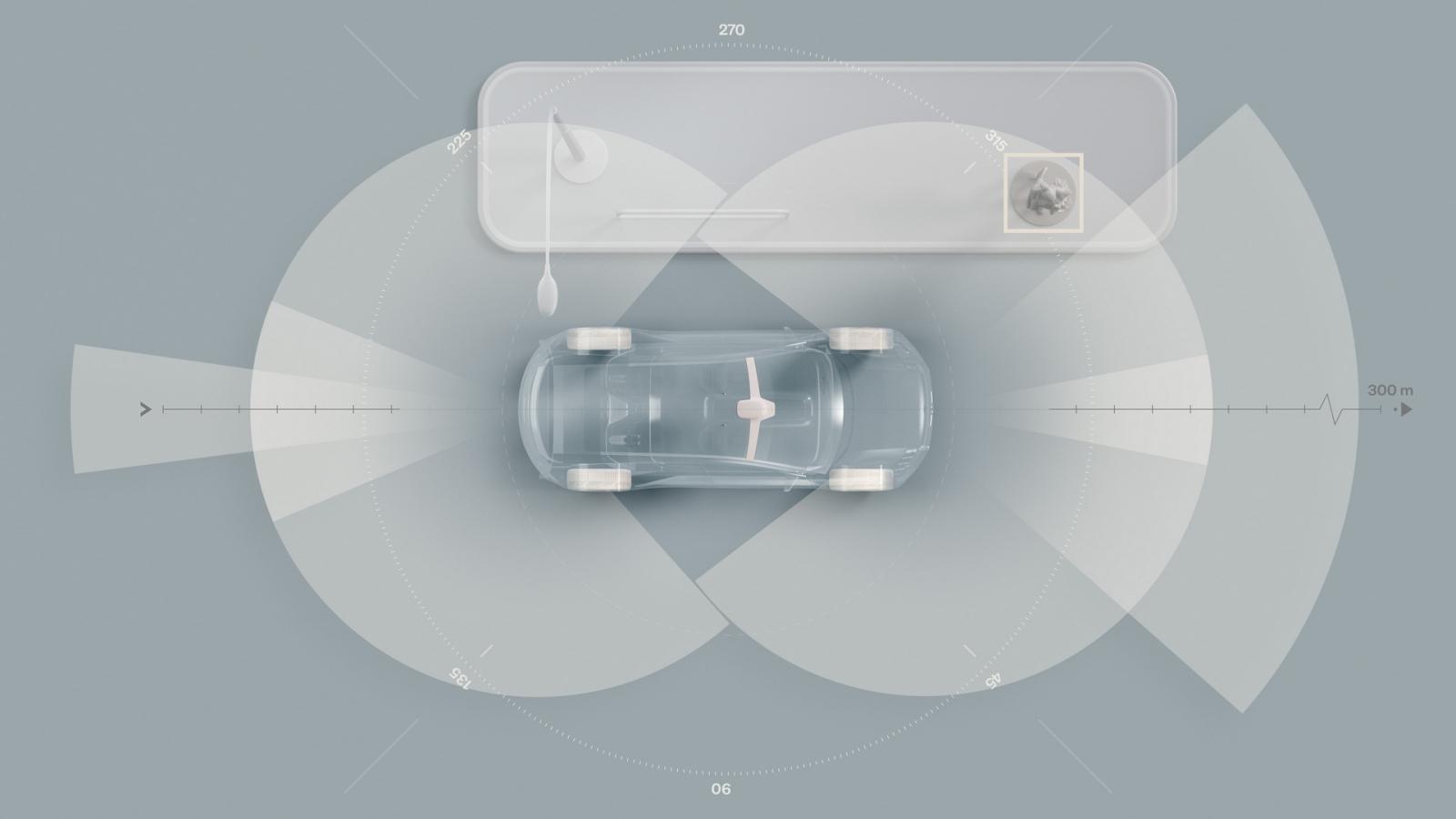 Cải tiến an toàn trên xe điện SUV của Volvo