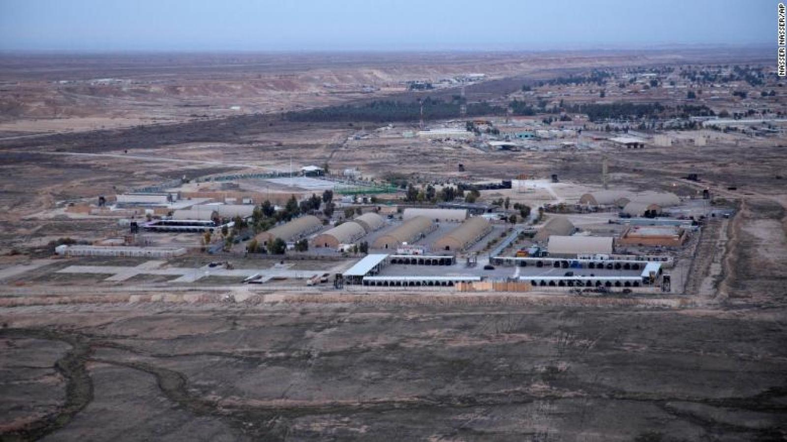 2 UAV bị bắn hạ tại căn cứ không quân có quân đội Mỹ đồn trú ở Iraq