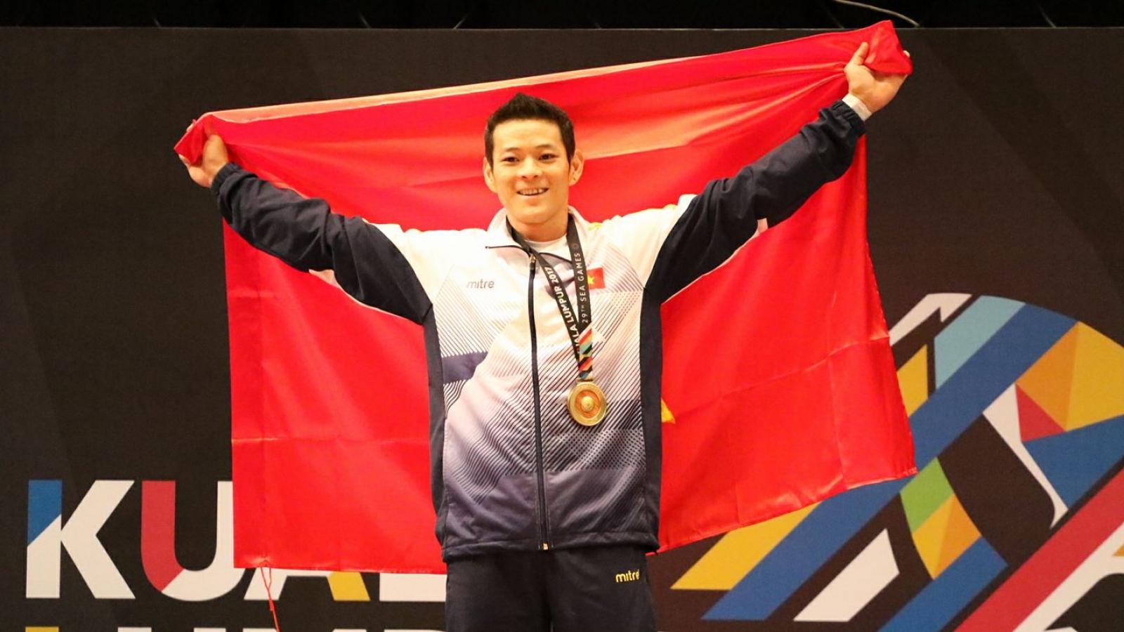Cử tạ Việt Nam chính thức giành 3 vé đến Olympic Tokyo