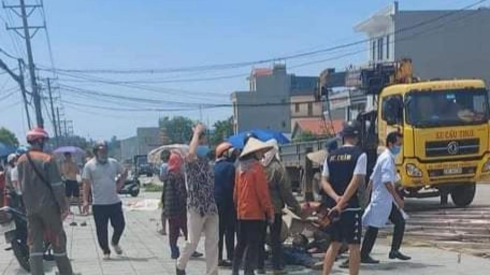Ba công nhân tại Quảng Ninh bị thương do điện giật