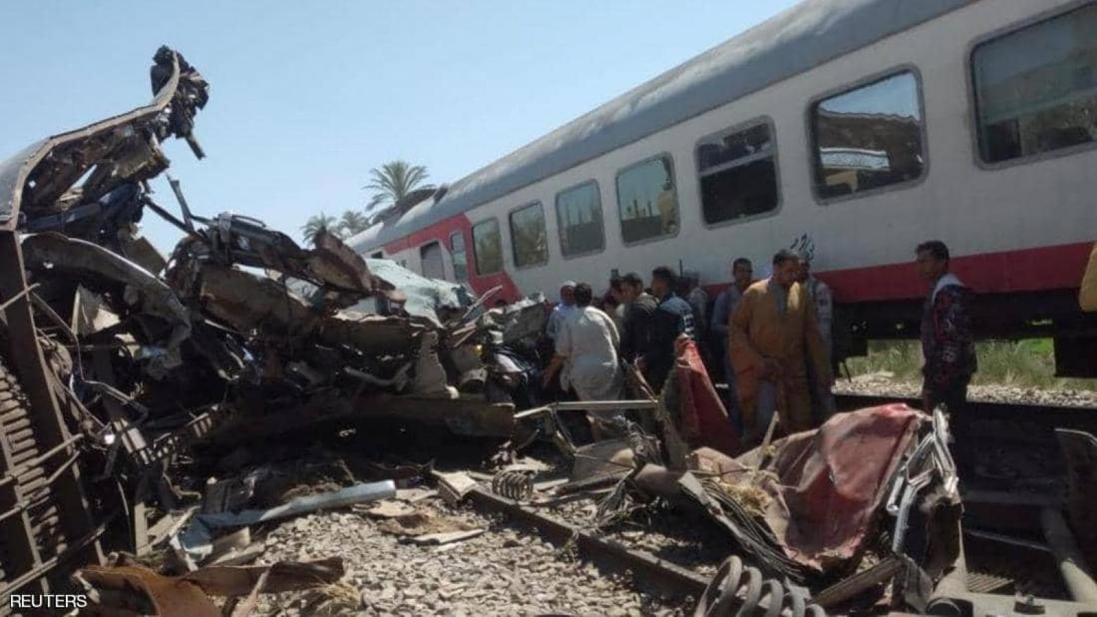 Ai Cập thông qua các biện pháp khẩn cấp để giảm số vụ tai nạn tàu hỏa