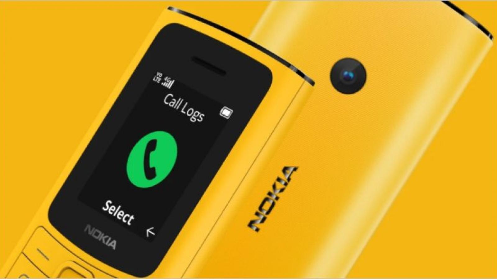 Nokia 110 4G và 105 4G ra mắt với kết nối LTE, thiết kế mới