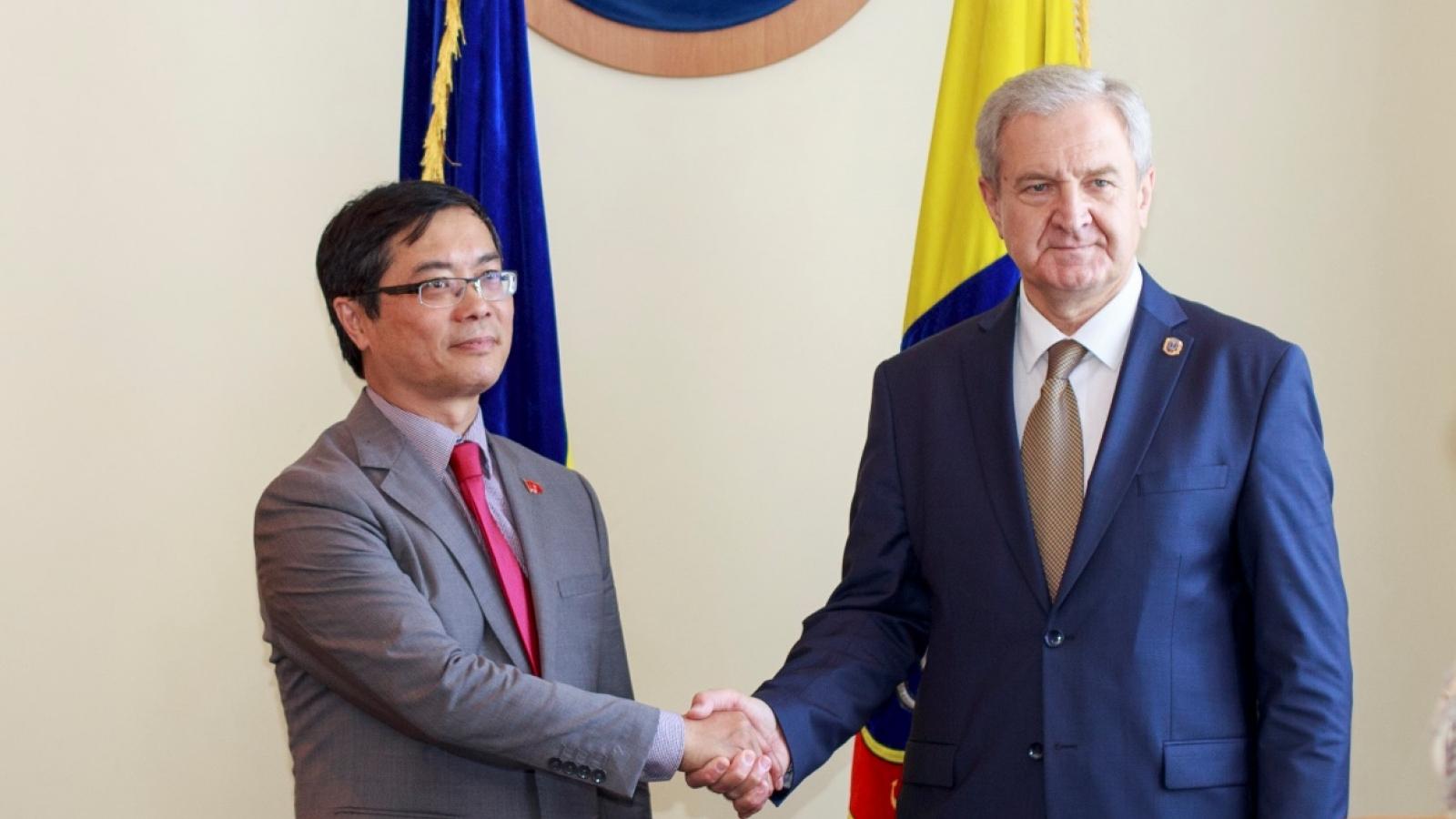Thúc đẩy hợp tác giữa tỉnh Odesa (Ukraine) với Việt Nam