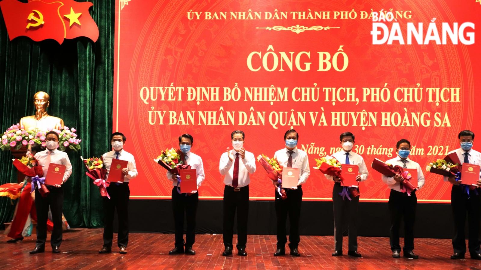 Ông Võ Ngọc Đồng được bổ nhiệm làm Chủ tịch UBND Huyện đảo Hoàng Sa