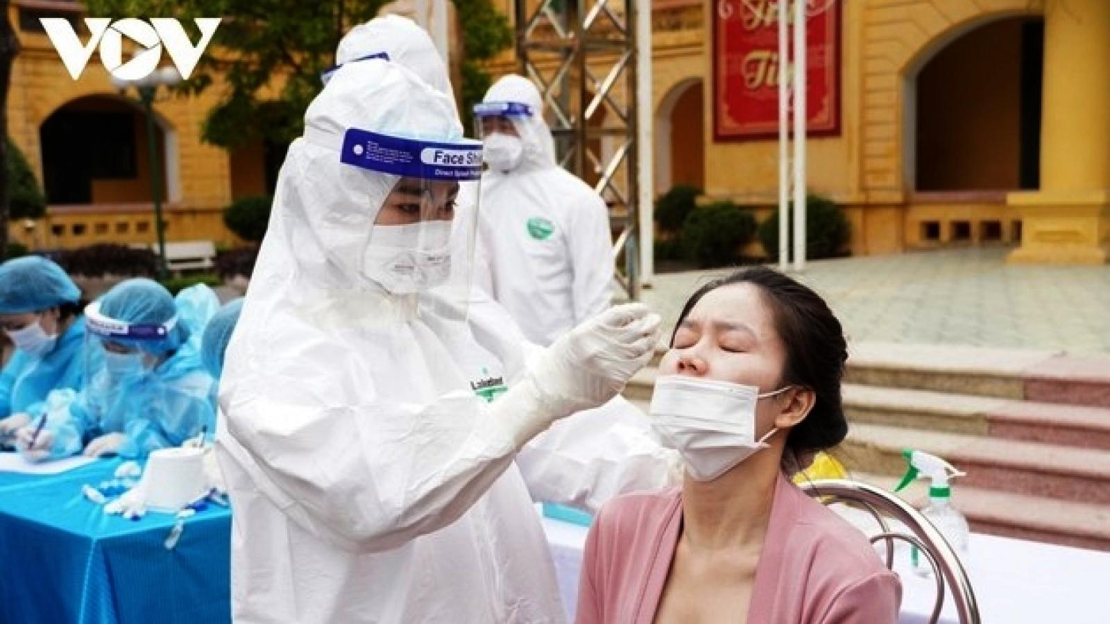 Chiều 13/6, Việt Nam ghi nhận 103 ca mắc COVID-19 mới