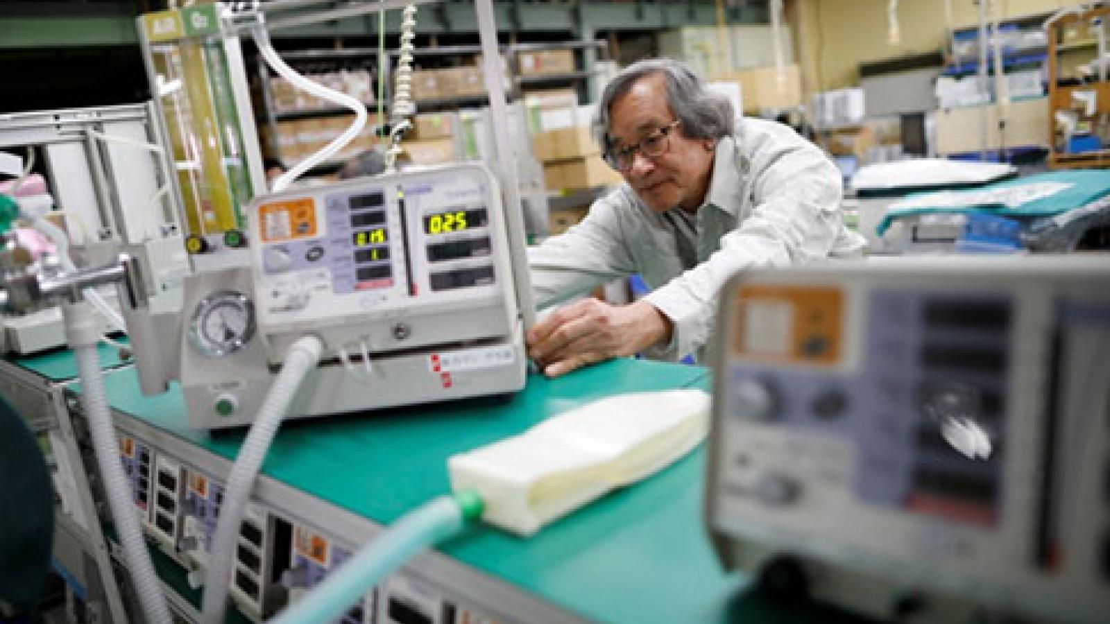 Máy thở cho bệnh nhân COVID-19 do Việt kiều Nhật chế tạo và những điều chưa kể