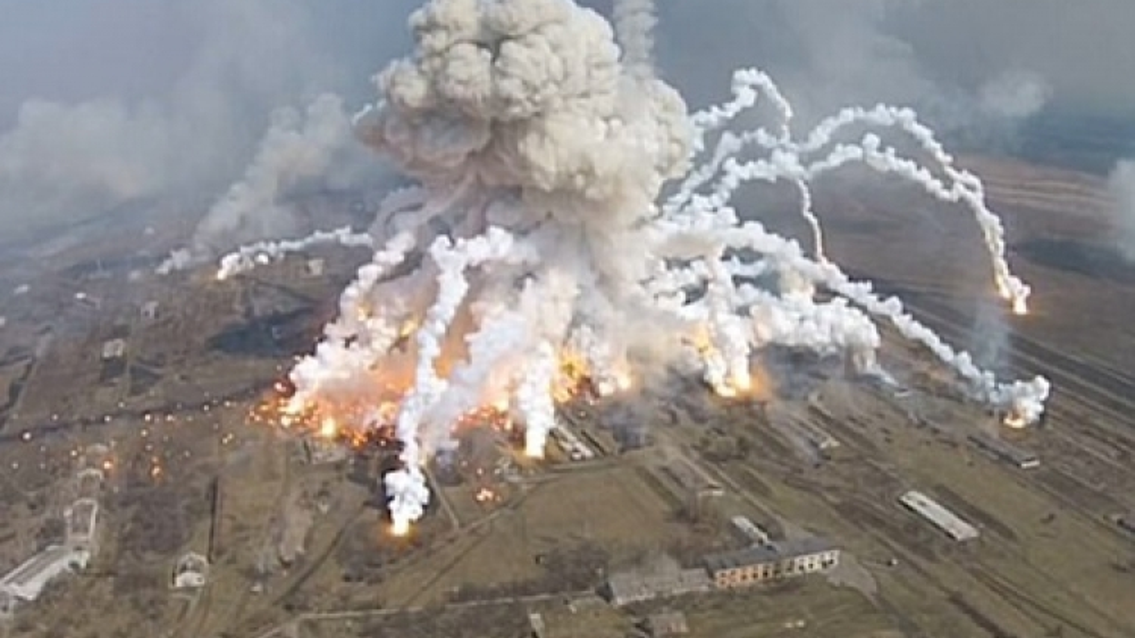 Séctrao công hàm yêu cầu Nga bồi thường thiệt hại sau vụ nổ kho đạn năm 2014