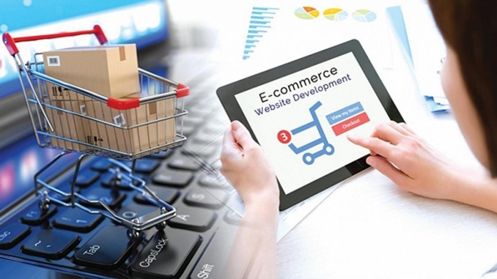Sàn thương mại điện tử phải kết nối thông tin với cơ quan thuế từ năm 2022