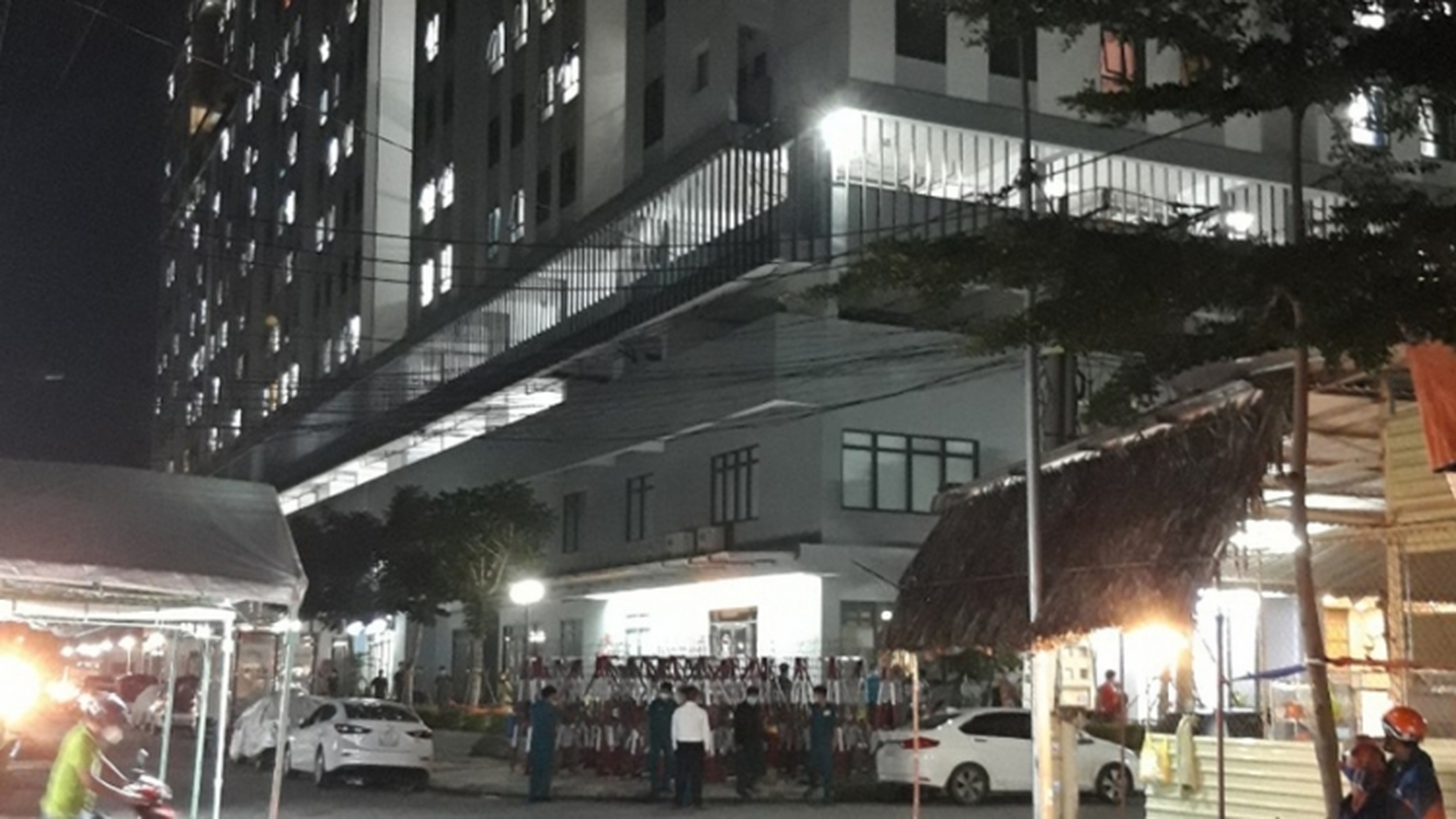 Gỡ bỏ phong tỏa Chung cư Marina Tower ở Bình Dương