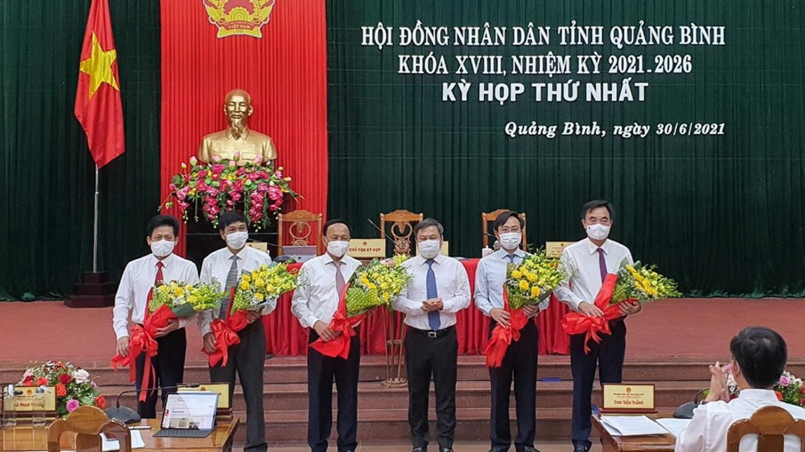 Ông Trần Hải Châu tái đắc cử Chủ tịch HĐNDtỉnh Quảng Bình