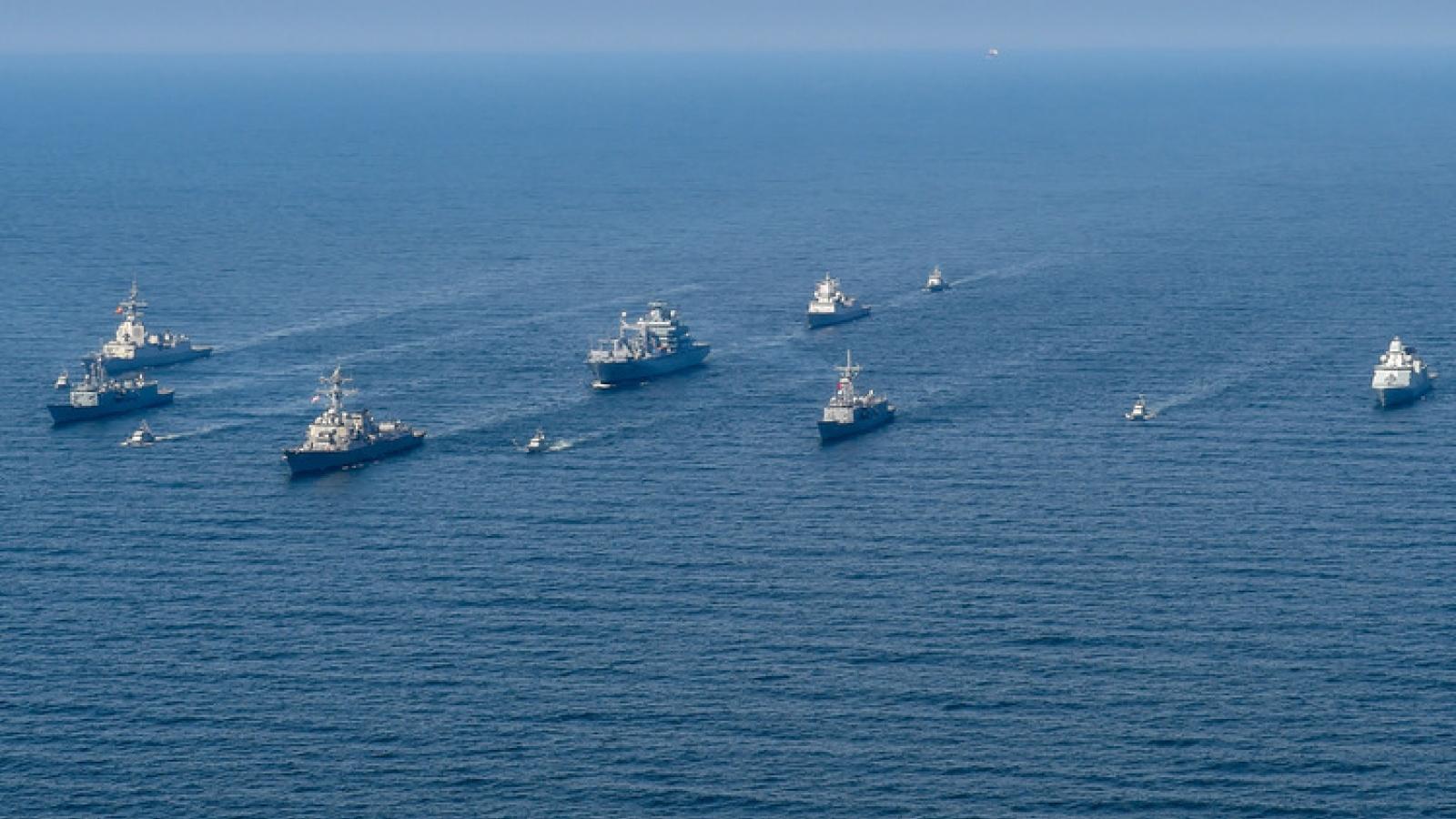 NATO-Mỹ tập trận chung lần thứ 50 trên biển Baltic