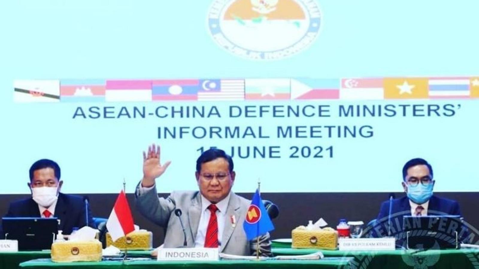 Bộ trưởng Quốc phòng Indonesia: ASEAN và Trung Quốc cần xây dựng COC thực chất