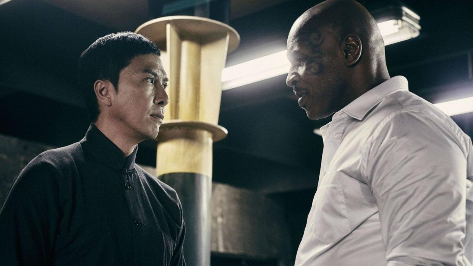 Chân Tử Đan sợ những cú đấm của Mike Tyson