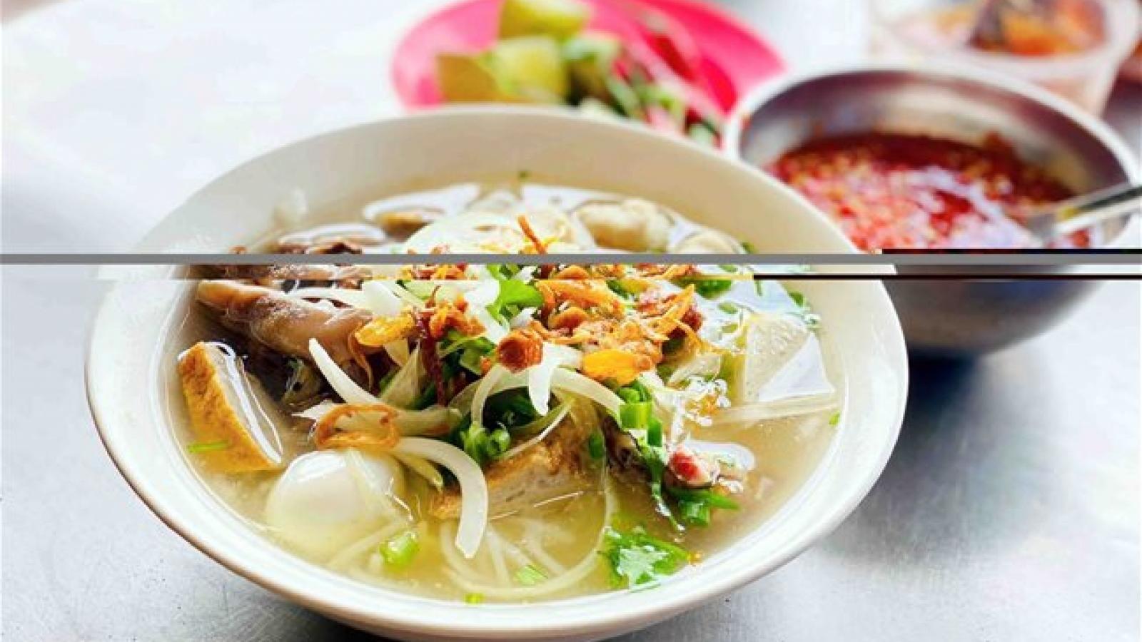 Coastal city's fish noodle soup