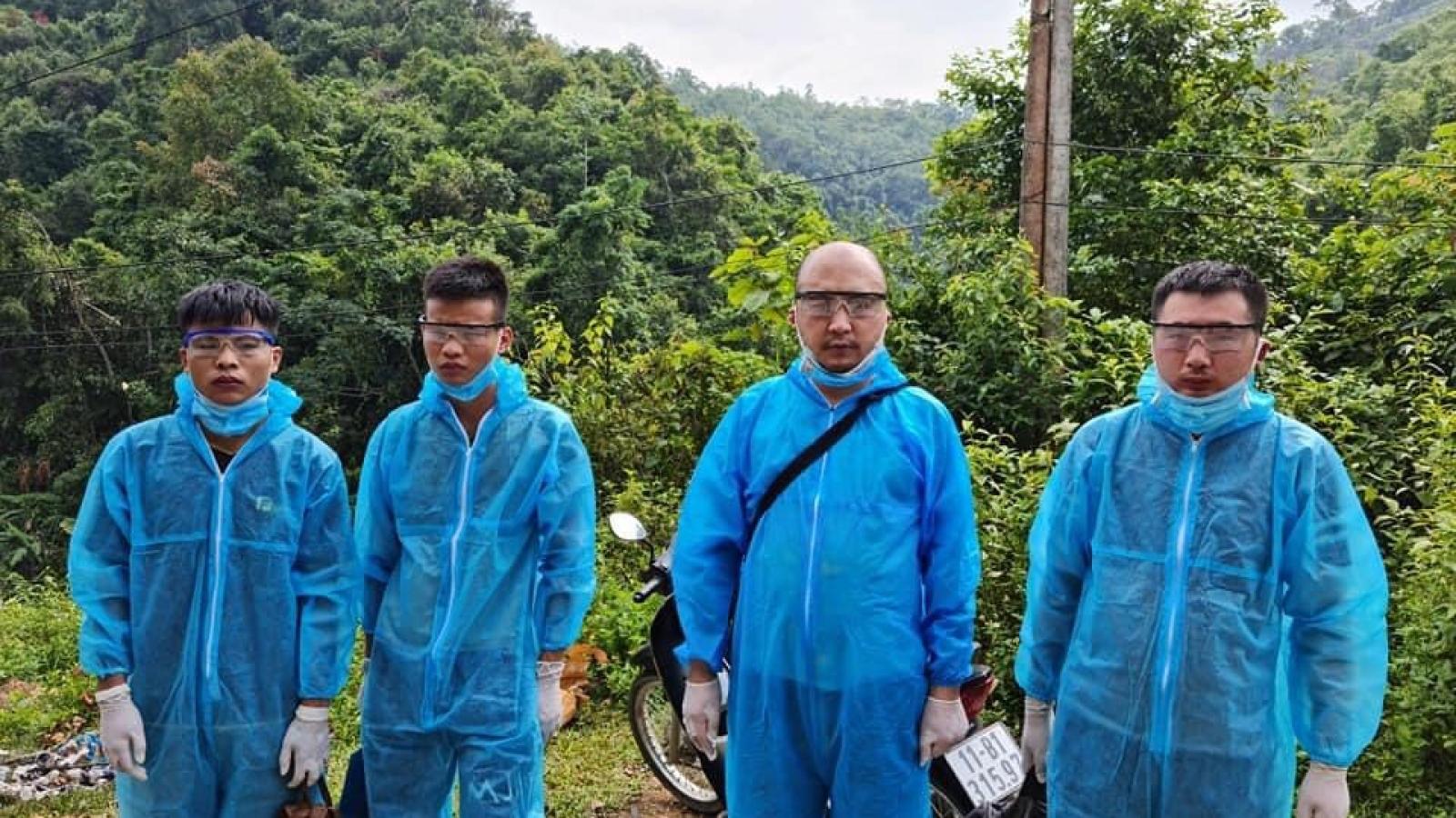 Cao Bằng phát hiện 4 công dân Trung Quốc nhập cảnh trái phép