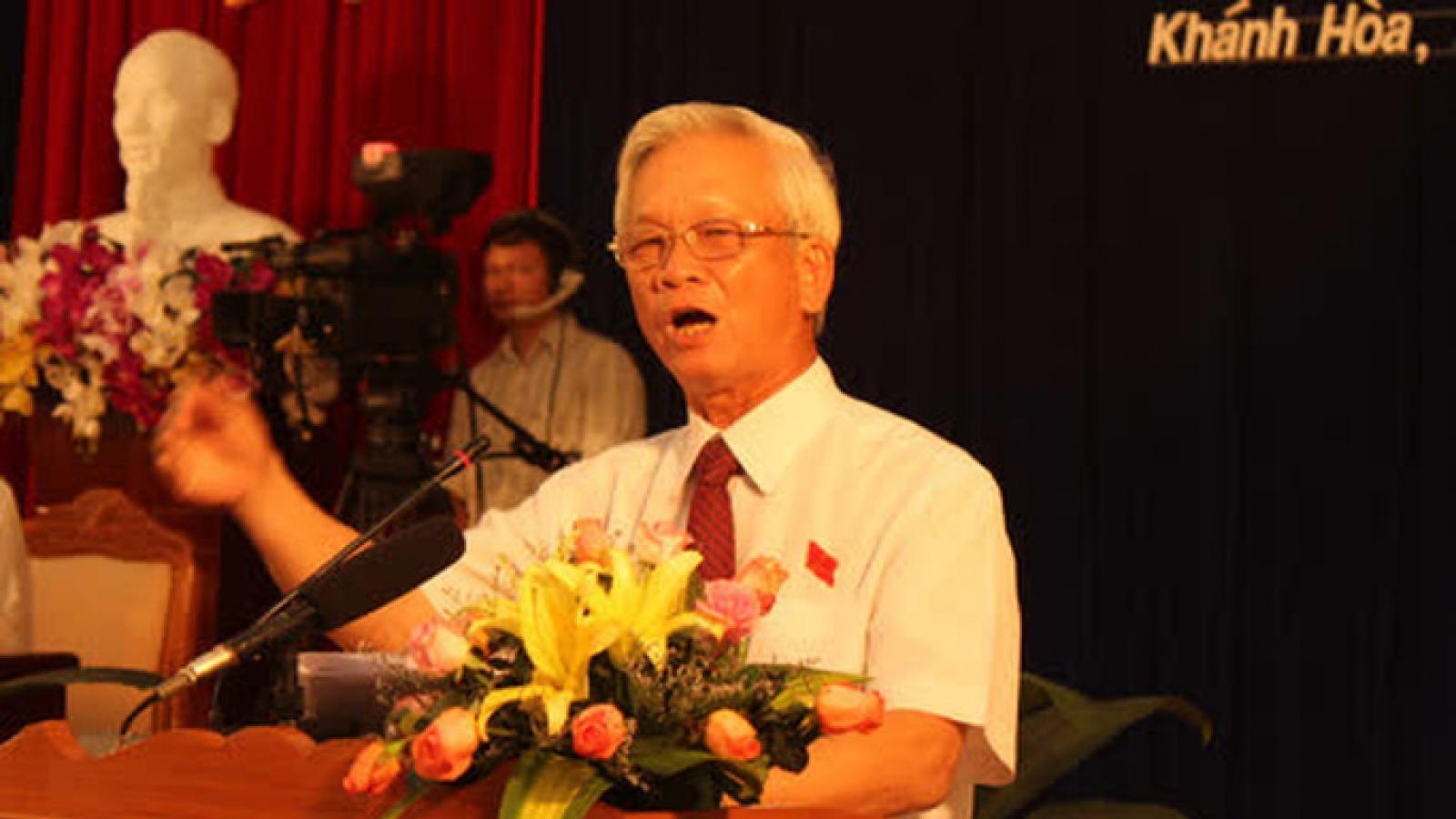 Ông Nguyễn Chiến Thắng, cựu Chủ tịch Khánh Hòa bị khởi tố thêm ở 1 vụ án khác