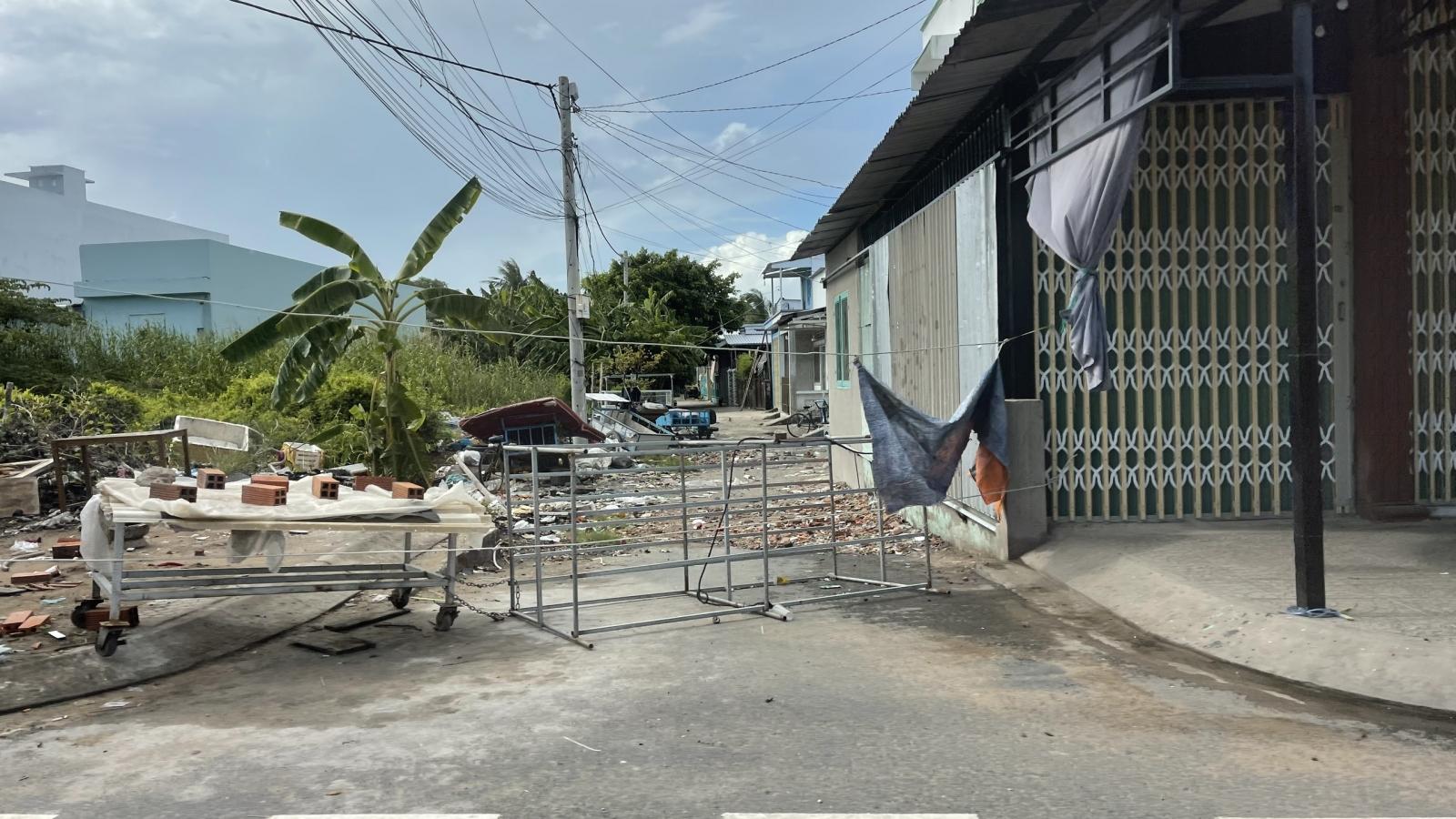 Thêm 2 ca dương tính covid, phong toả con hẻmcó 11 hộ gia đình sinh sống ở Kiên Giang