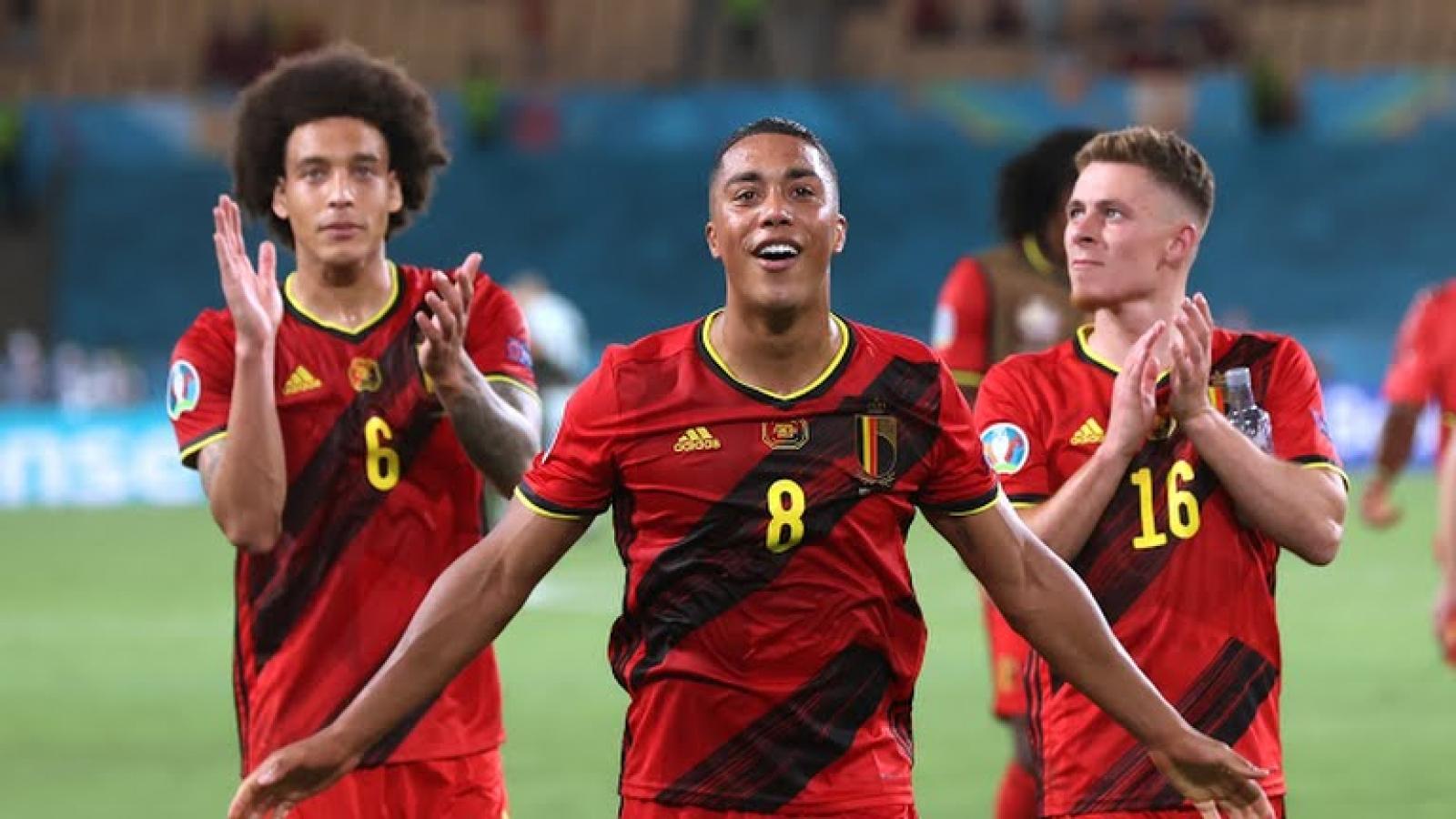 Bỉ đối đầu với Italia, CH Séc gặp Đan Mạch ở tứ kết EURO 2021