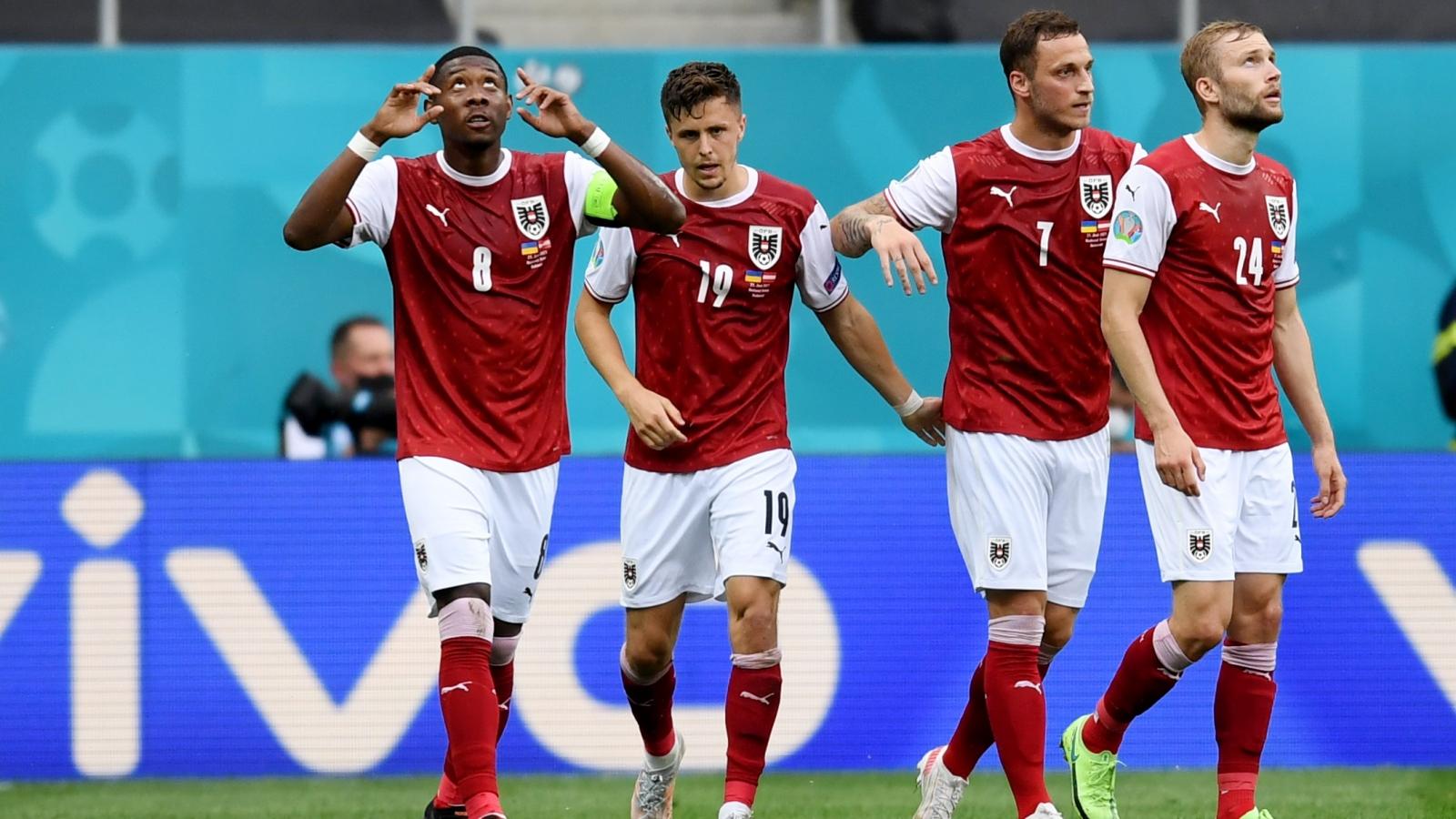 Thắng thuyết phục Ukraine, Áo giành vé lịch sử vào vòng 1/8 EURO