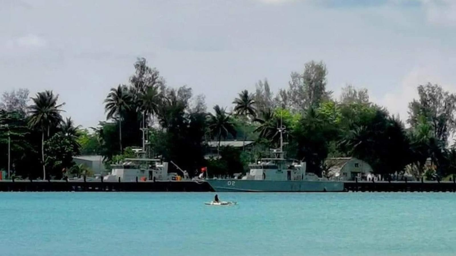Australia tài trợ Papua New Guinea nâng cấp căn cứ hải quân