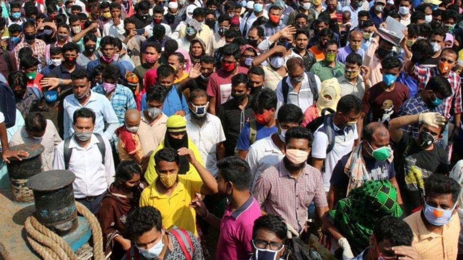 Gần 2/3 số quận, huyện của Bangladesh có nguy cơ Covid-19 rất cao