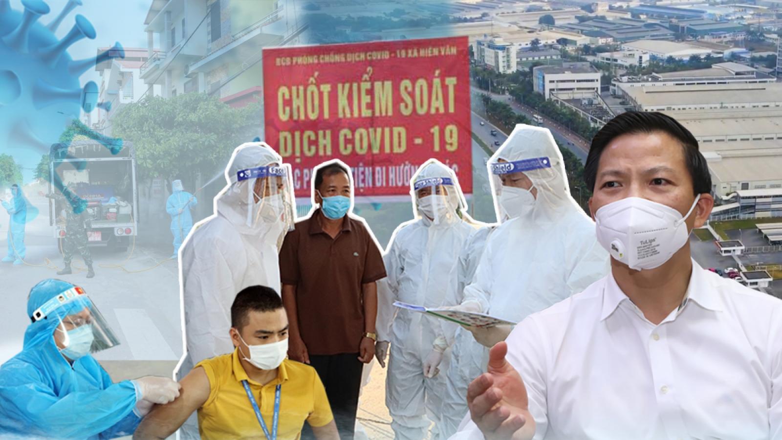 Chống dịch tại Bắc Ninh: Những quyết định chưa có tiền lệ